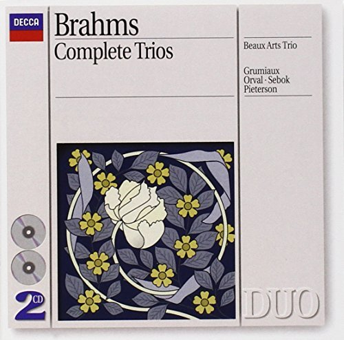 Brahms: Complete Trios by Beaux Arts Trio (1993-08-10)