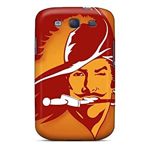Protector Hard Phone Case For Samsung Galaxy S3 With Allow Personal Design Vivid Tampa Bay Buccaneers Series PhilHolmes