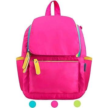Zmsdt Mochila Hombres y Mujeres Bolsas para niños Viajes al Aire Libre Ocio Bolsa de Viaje Mochilas para Mochilas Ultra Ligeras (Color : Pink, ...