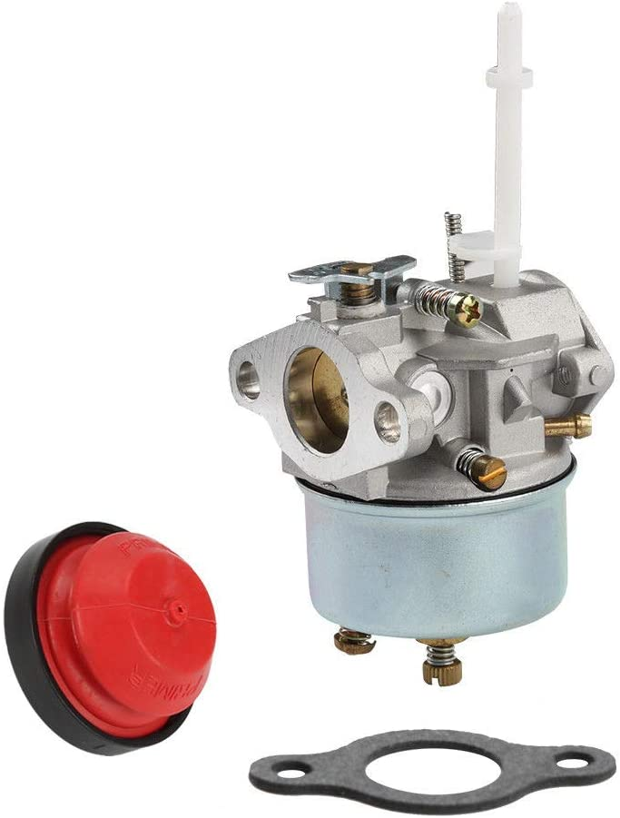 goodbest New Snow Blower Carburetor with Gaskets Primer and Fuel Filter for Tecumseh 632371 632371A 631954 H70 HSK60 HSK70 7HP Toro Model 3521 Stens 520-910