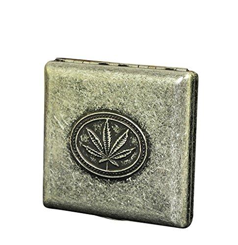 Cig-U Nostalgic Copper Cigarette Case (Leaf) from Cig-U