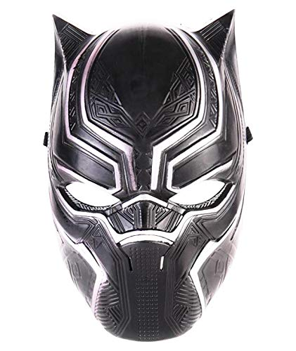 Superhero Cosplay Black Panther Mask for Kids or Adults