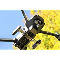 ROBOTERWERK Drone Dual Headlight / Nightflight LED Light (DJI Mavic Pro and Platinum drone lamp) -720 lumen radiant white (FPV lighting), 360 deg. infinitely inclinable Drone Accessories
