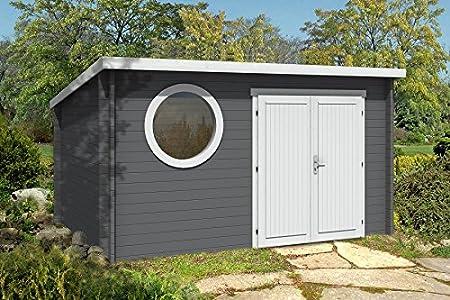 Modernes Holz Gartenhaus Maria Rondo Mit Boden Gerateschuppen Mit