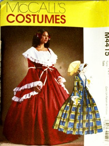 McCall's 4415 Historical Pattern Civil War Era (Gone with the Wind Style) Day Skirt and Top Misses 6 to 12]()