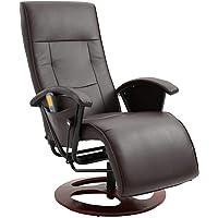 vidaXL Massage Chair Home Living Room Office Adjustable Electric Cahir Shiatsu Seating Recliner Seat Sitting Furniture…