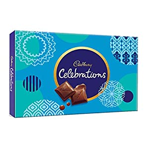 Cadbury Celebrations Assorted Chocolate Gift Pack, 186.6g – Pack of 2