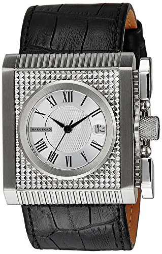 Marc Ecko Men's E15093G1 The Wall Street Leather Watch ()