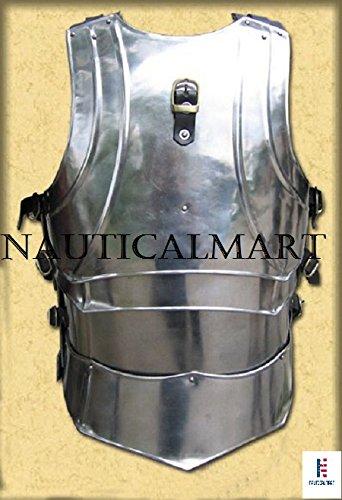 NAUTICALMART LARP, LARP Armor, Elven, Fantasy, kinght, Medieval Costume, Steel, Armor by NAUTICALMART (Image #2)