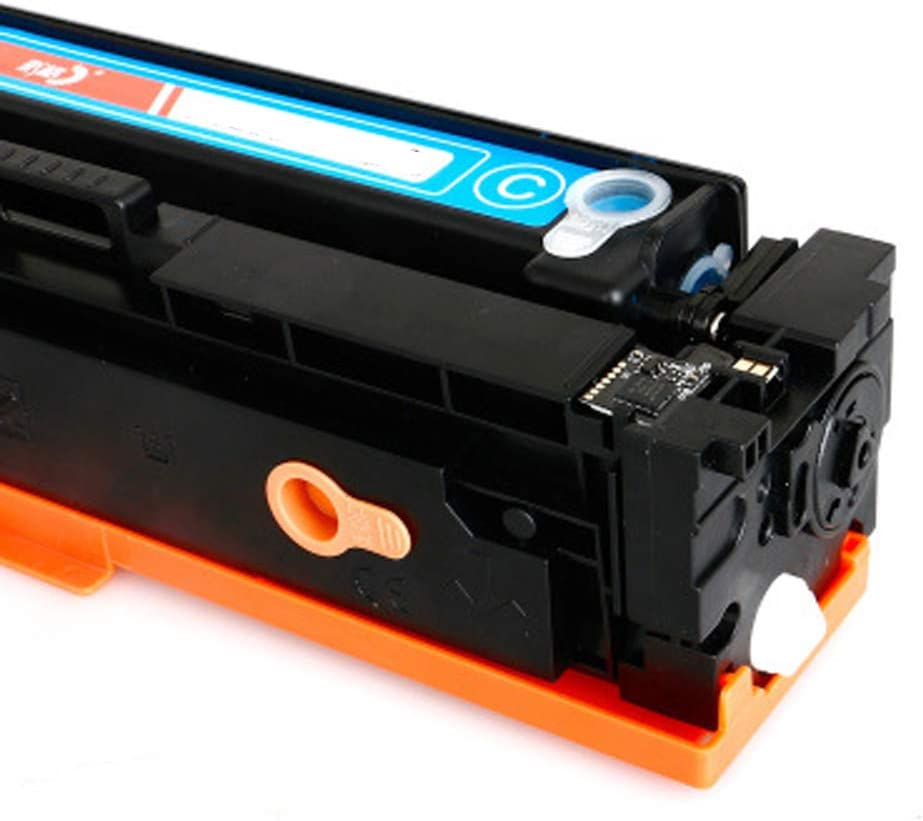 Compatible Toner Cartridge Replacement for Hp 201a Cf400a Cf401a Cf402a Cf403a for Hp M252dw 277n 277dw M252n 201a Color Laserjet Containing Chips-Combination