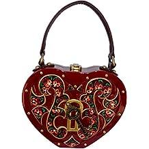 Timmy Woods Beverly Hills Amore Organic Wood Handbag