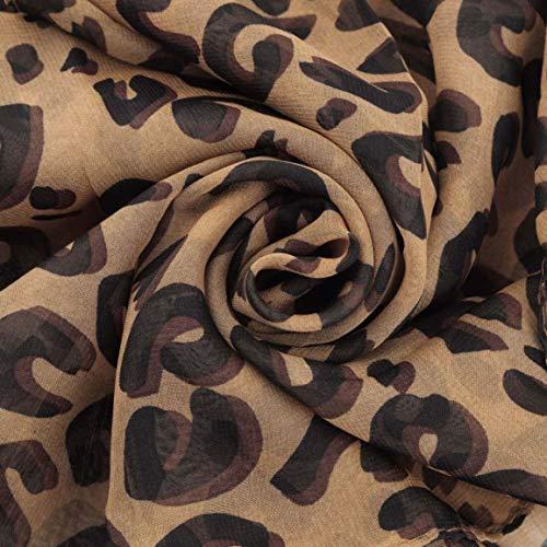 Le Style Pour Et Écharpe Leopard Toutes Sheer Fantasyworld Douce Convient Lisse Tout Les Port Prime Mode Infinity Avec D'impression La À Correspondre Occasions w6TwxX1g