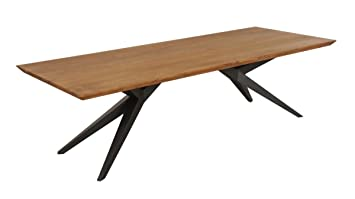 Esstisch Wildeiche Massiv 260x100 Speisetisch Tisch Modern Schweizer