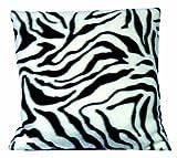Haan Crafts Alpine Fleece Pillow Sewing Kit, 14-Inch, Zebra