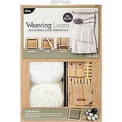 Bucilla 49029E 10 Inch Weaving Loom Starter Kit