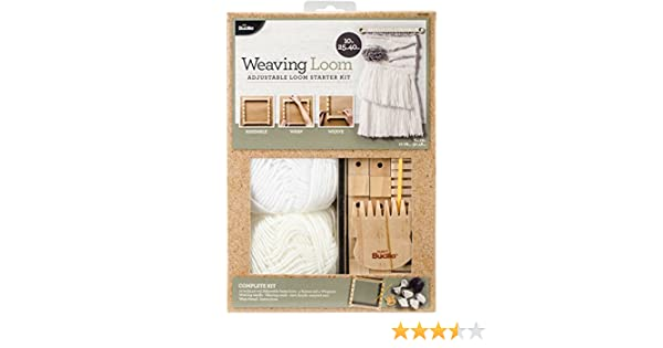 Amazon Bucilla 49029e 10 Inch Starter Weaving Loom Kit