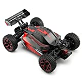 Zhencheng 1/18 Scale Electric RC Truck 2.4Ghz 4WD Extreme Speed Buggy 4x4 Racing RC Car Toy Vehicle,Red