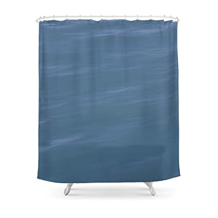 Society6 Ocean Blue Shower Curtain 71quot