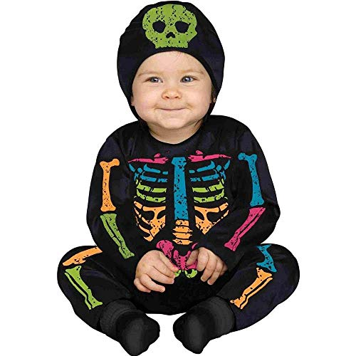 (Fun World Lrg/Color Bns/Baby Bones Tdlr, Mulri,)