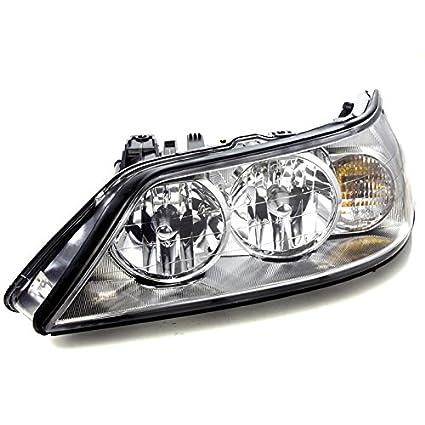 Amazon Com Carpartsdepot 2003 2004 Lincoln Town Car Headlamp