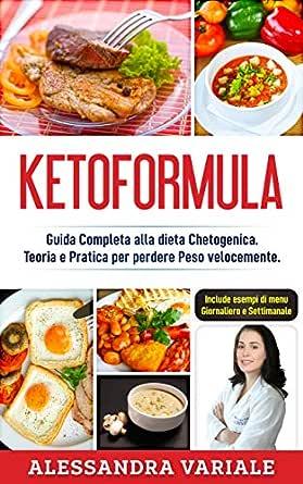 esempio di menu di dieta chetogenica