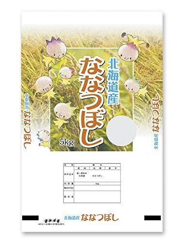 米袋 ラミ フレブレス 北海道産ななつぼし 妖精たち 5kg 1ケース(500枚入) MN-7810 B078TBVR1G 1ケース(500枚入) 5kg用米袋
