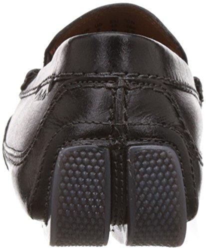 Mocasines Clarks Race Ashmont Black para Hombre Leather Negro 66gPf