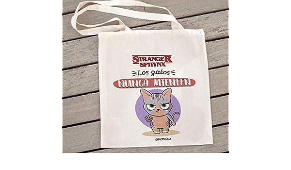 Okemaku - Tote Bag Mensaje: Stranger Things - los Amigos ...