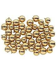 45 pcs Christmas Tree Ball Gold Bauble Hanging Ornament Christmas Decoration