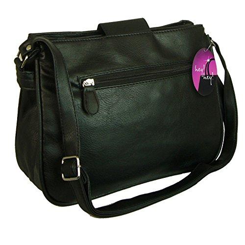 Classic Ladies Mink Darker Handbag Body Cross Tan Brown Colour Mid 6wTTBdq