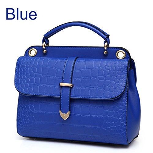 Women Women Travel Body Cross Crossbody PU Blue For Small Tanling Leather Black Pattern Bags Side Bags Bag Stone Crossbody Awagqx1t