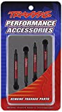 Traxxas 7018X Red Anodized Aluminum Pushrods, 1/16 Scale (set of 4)