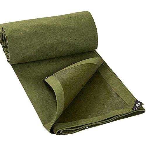 湿地シーサイドマディソンZHANWEI ターポリンタープ Tarp テント タープ 厚い防水布 オーニング 雨篷 コットンキャンバス 耐寒性 厚い 目覚め 日焼け止め シェード 断熱 トラック 車 アウトドア (色 : Green, サイズ さいず : 3x4m)