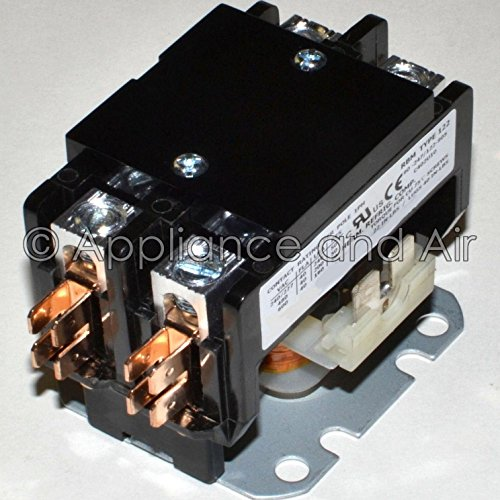 001813F Raypak Spa Hot Tub Contactor Double Pole 240V/50A Heavy Duty + instruct. ..#from-by#_applianceandair~hee30121357052533