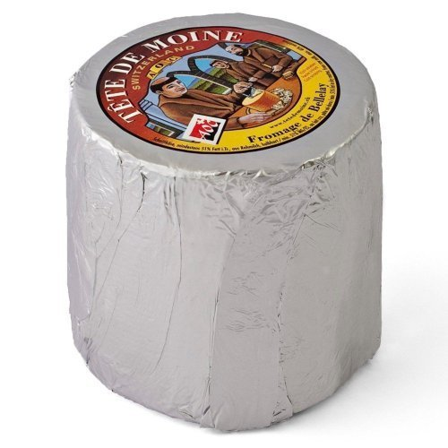 Original AOC Tete de Moine Swiss Cheese by Tete de Moine