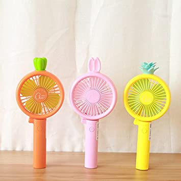 2885730b803ab Rechargeable Fans Handheld Foldable Mini Cute Fan Battery Operated Electric  Personal Fans with Foldable Fans Hand