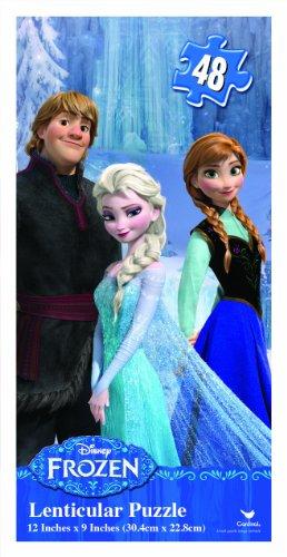 Froze (Disney Princess Lenticular Puzzle)