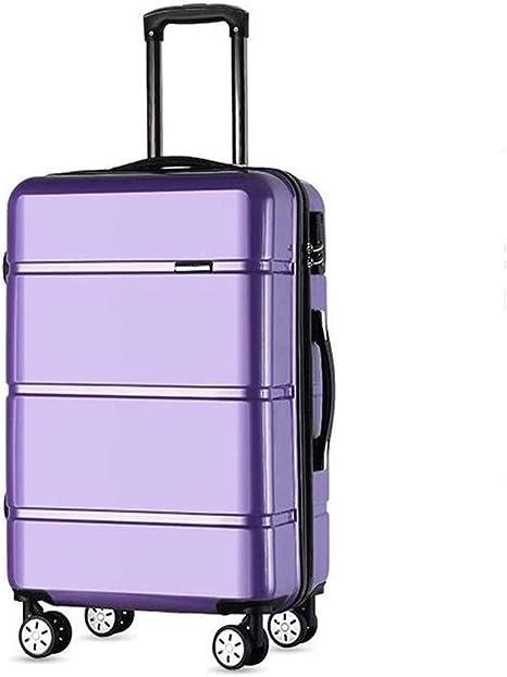 """Hammer 20"""" Equipaje de Mano Spinner Carretilla, Equipaje de Mano Durable, Ligero Rígida, la Caja de la Carretilla de la Rueda Universal Maleta (Color : Purple): Amazon.es: Deportes y aire libre"""