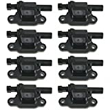Ignition Coil Set of 8 Kit for Cadillac Escalade ESV Chevy Silverado 1500 Avalanche 1500 Suburban 1500 Tahoe Impala GMC Sierra 1500 Yukon