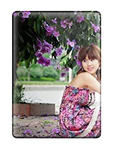 Shock-dirt Proof Korean Girl Model Photography Case Cover For Ipad Air