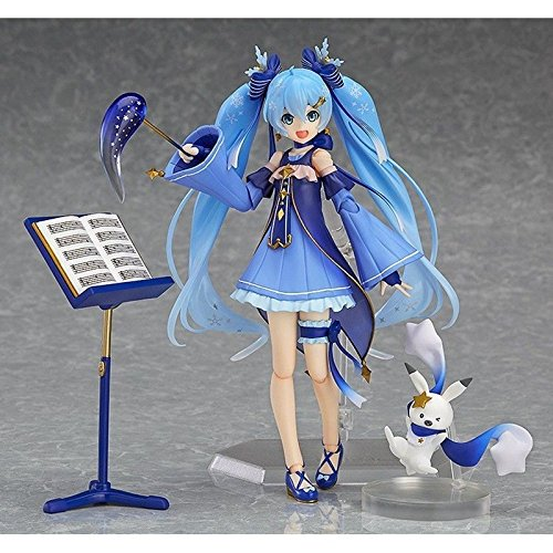 Hatsune Miku All Costumes (Ggtop Anime Hatsune Miku Figma EX-037 Twinkle Snow Ver. PVC Action Figure No Box)
