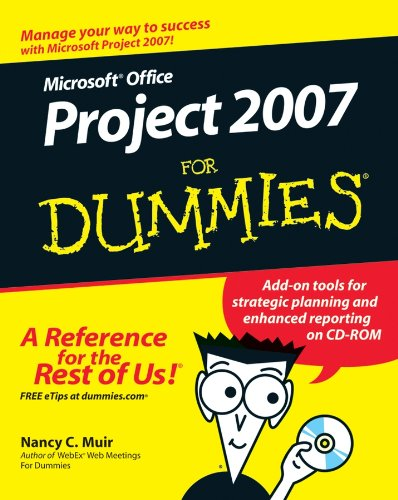 Microsoft Office Project 2007 For Dummies Pdf