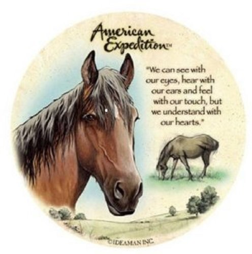 (American Expeditions Mustang Stone Coasters (4))