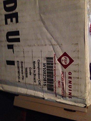(Whirlpool W10823815 Refrigerator Compressor Genuine Original Equipment Manufacturer (OEM) Part)