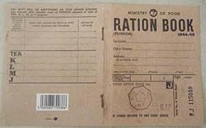 Réplica Junior Ración Libro de 2da Guerra Mundial