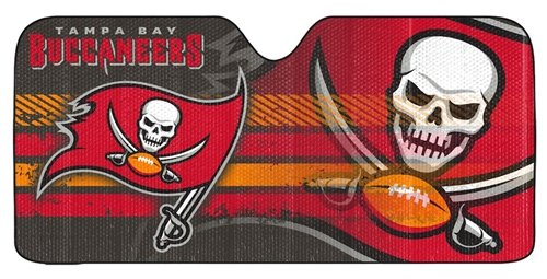 Tampa Bay Buccaneers Auto Sun Shade - - Tampa Shopping Outlets