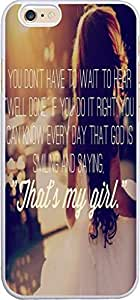 Case For Iphone 6, Iphone 6 Case Bible Verses Christian Quotes 4.7 Inches That Is My Girl