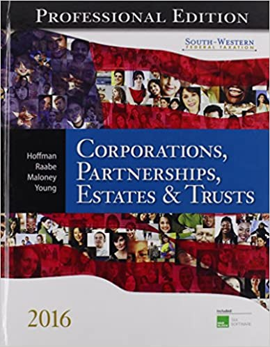 South western federal taxation 2016 corporations partnerships south western federal taxation 2016 corporations partnerships estates and trusts professional edition with hr block cd rom fandeluxe Image collections