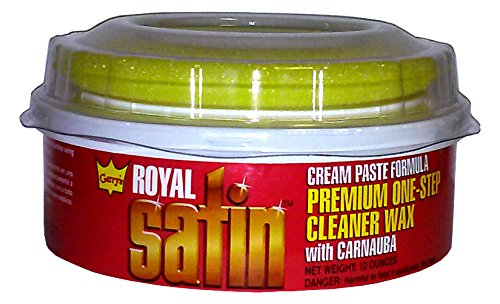 Garry's Royal Satin Automotive ONE STEP Cleaner Wax (10 oz.)