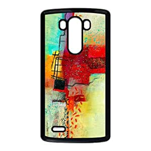 LG G3 Cell Phone Case Black abstract Painting SLI_738594